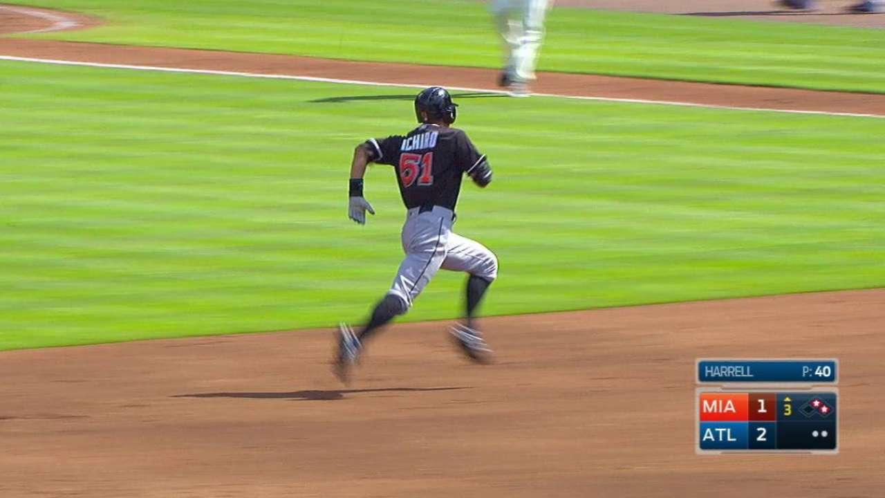 Ichiro brings in Dietrich