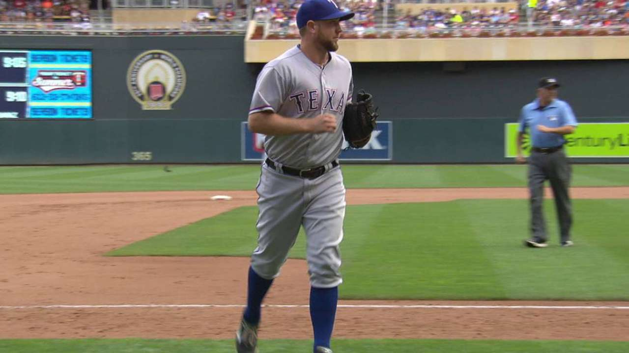 Holaday gets out in relief