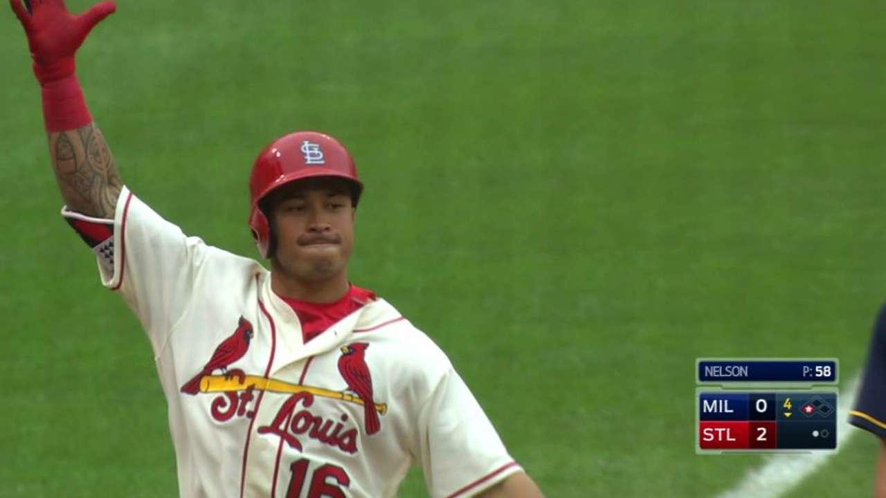 Wong's two-run triple