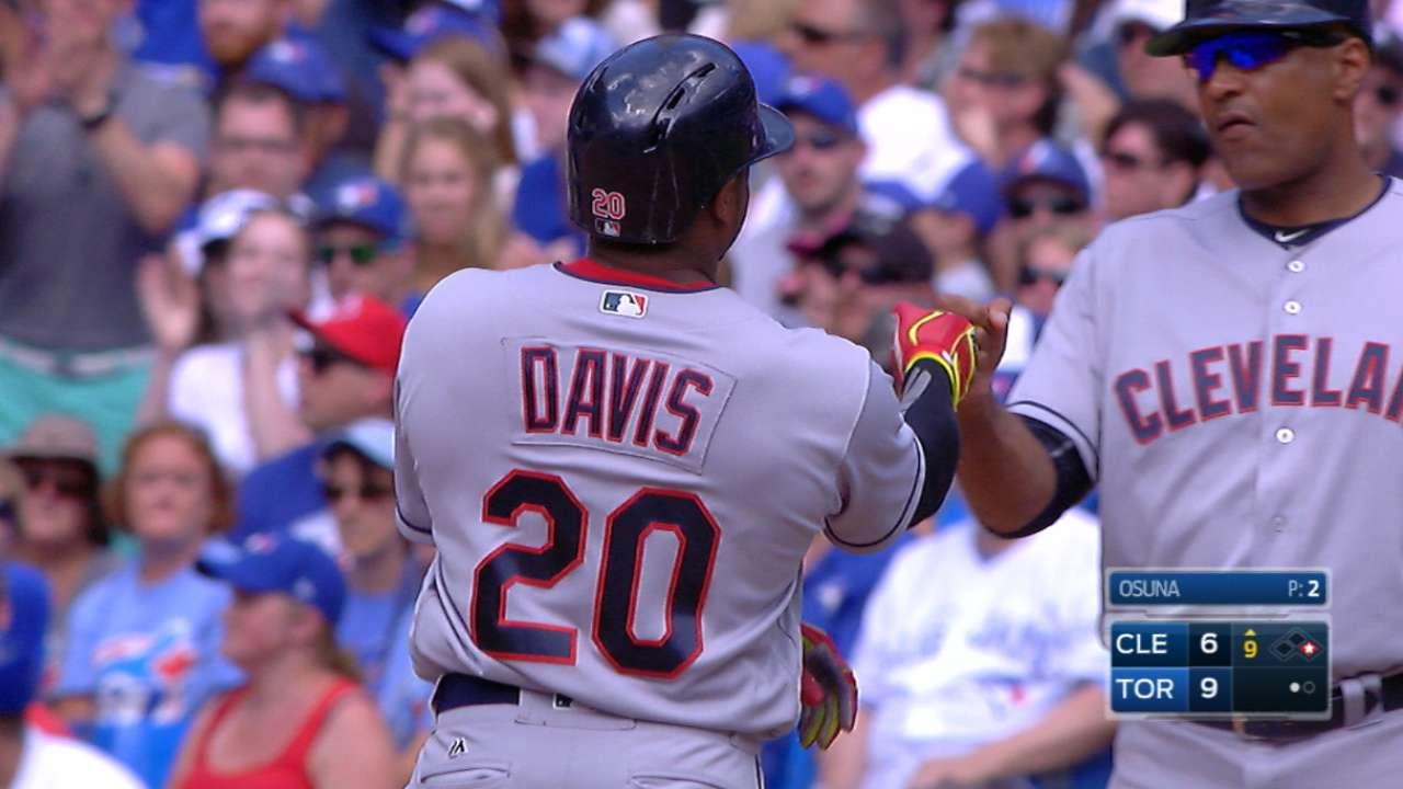 Davis earns cycle