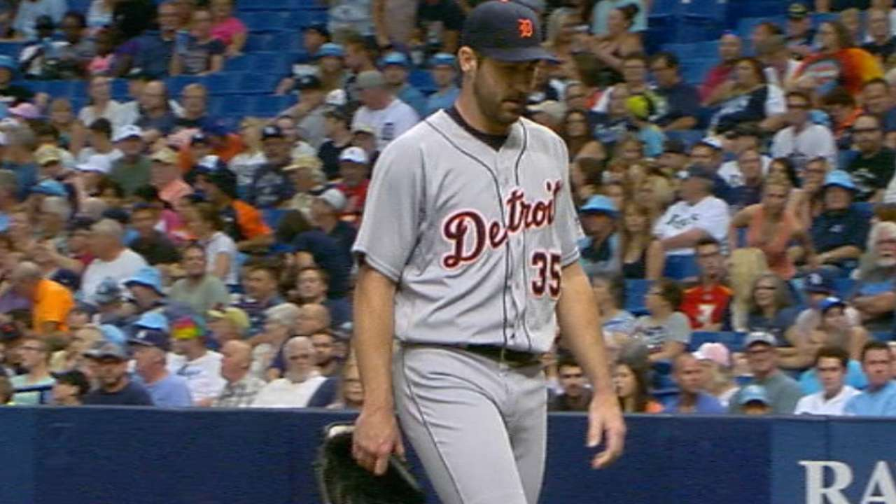 Verlander earns win No. 8