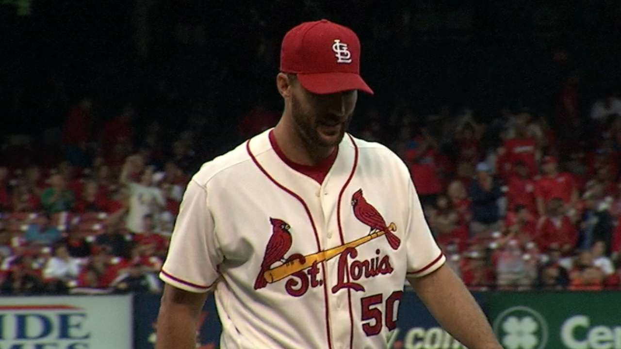 Waino, Wong send Cards to wet W over Crew