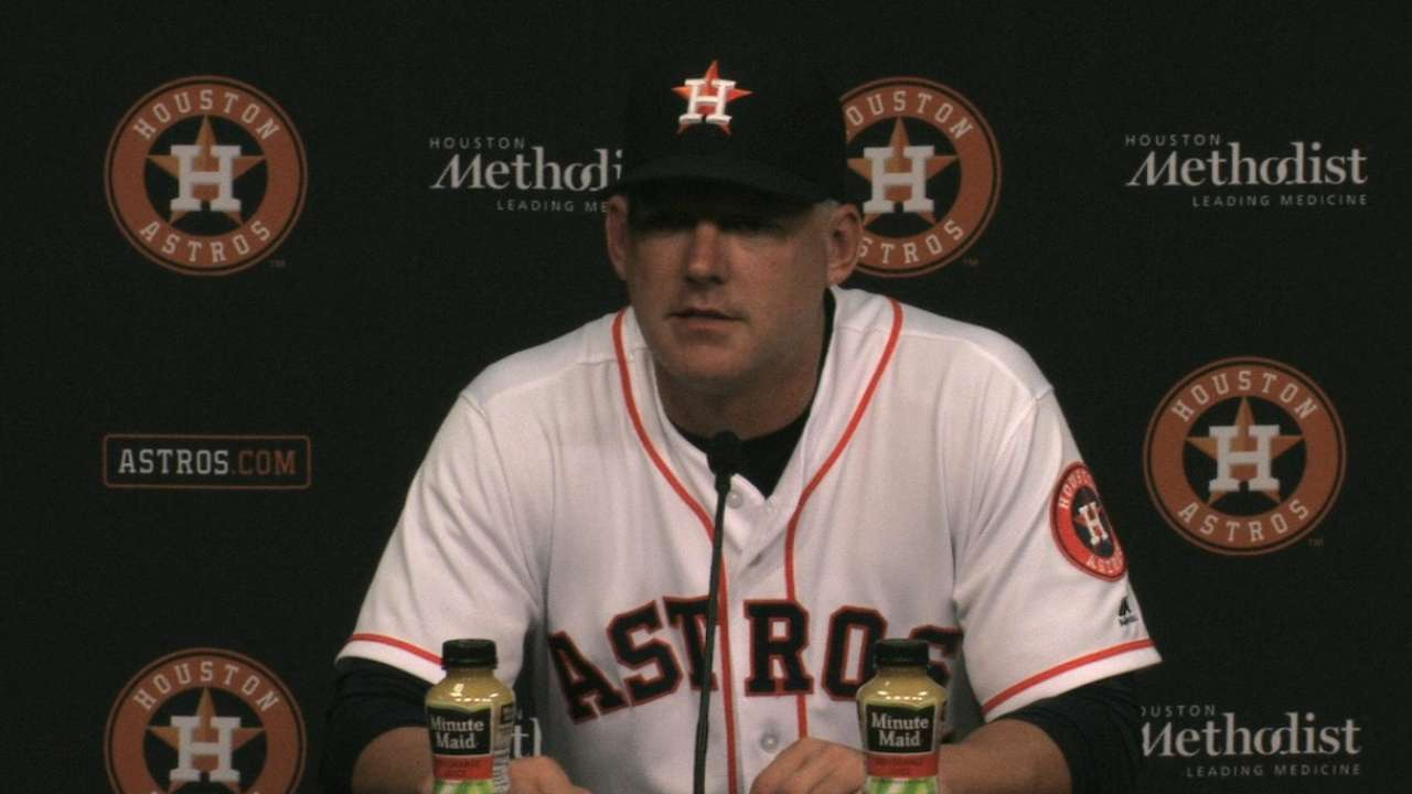 Hinch on 7-6 loss to White Sox