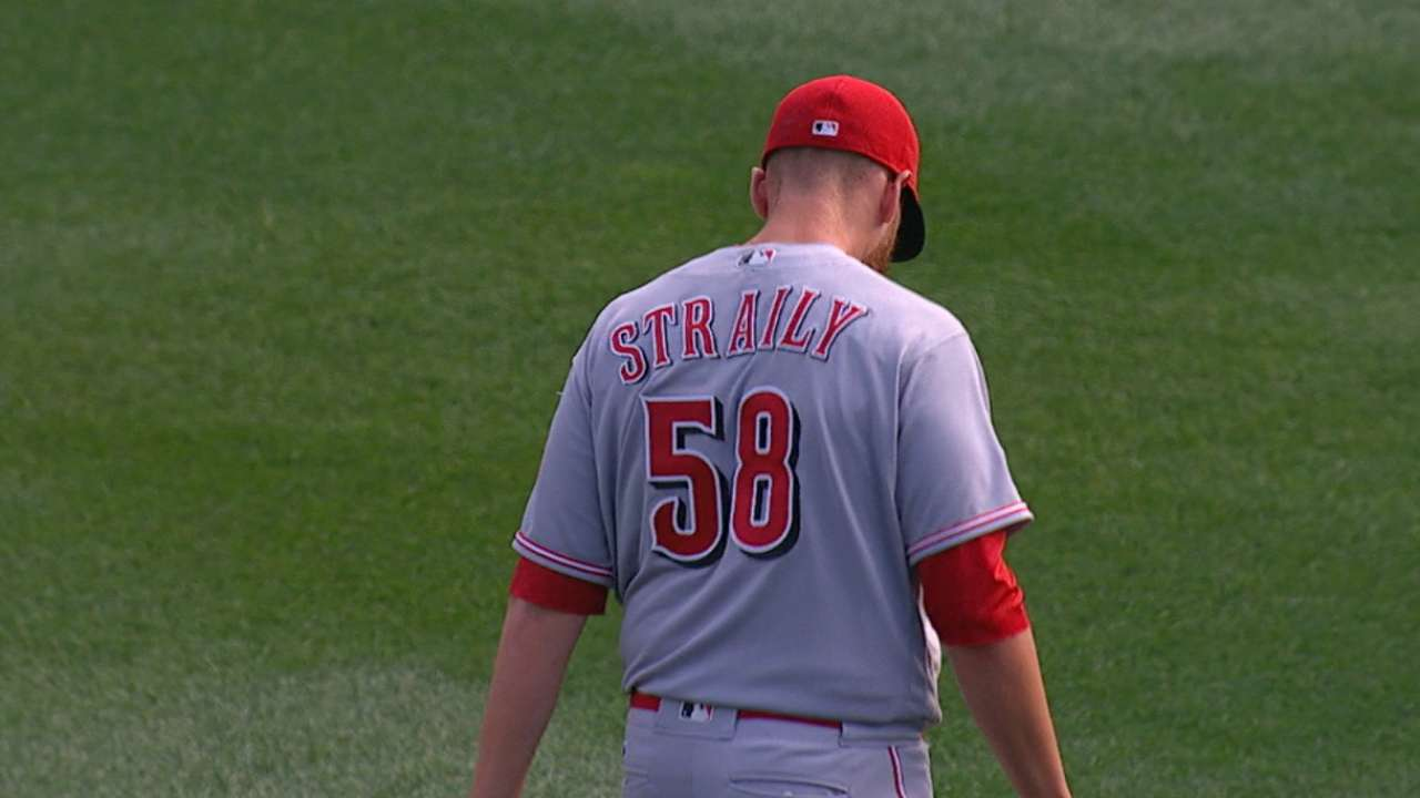 Straily's solid outing