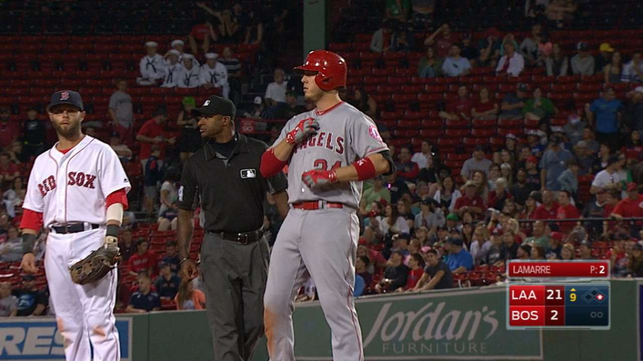 Cron's six-hit, two-homer game