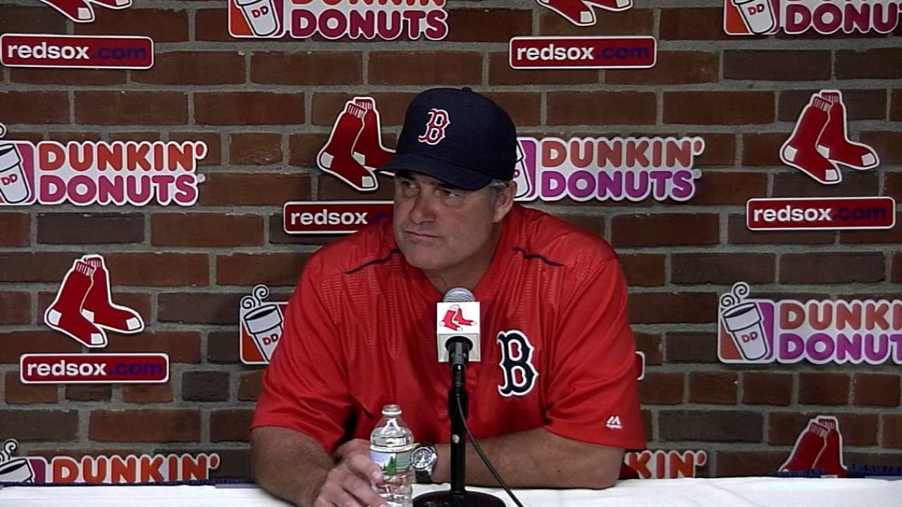 Farrell on the 21-2 loss