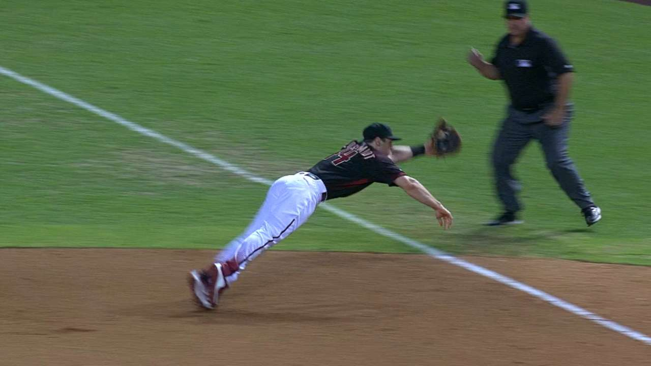 Goldy's late-inning defense
