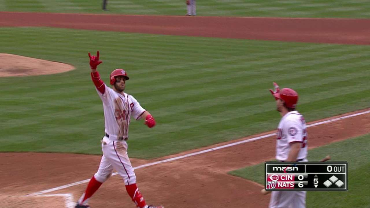 Trout, Harper set to make many highlights