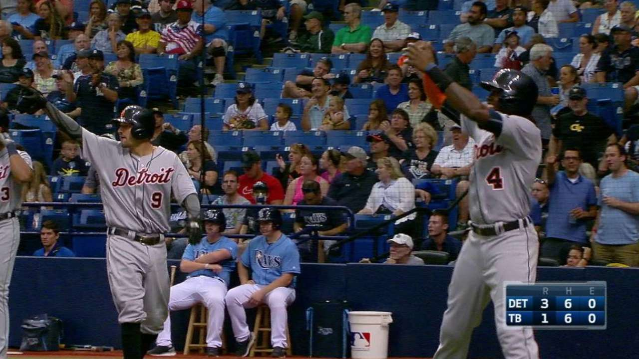 Upton's hard hits could be sign of breakout