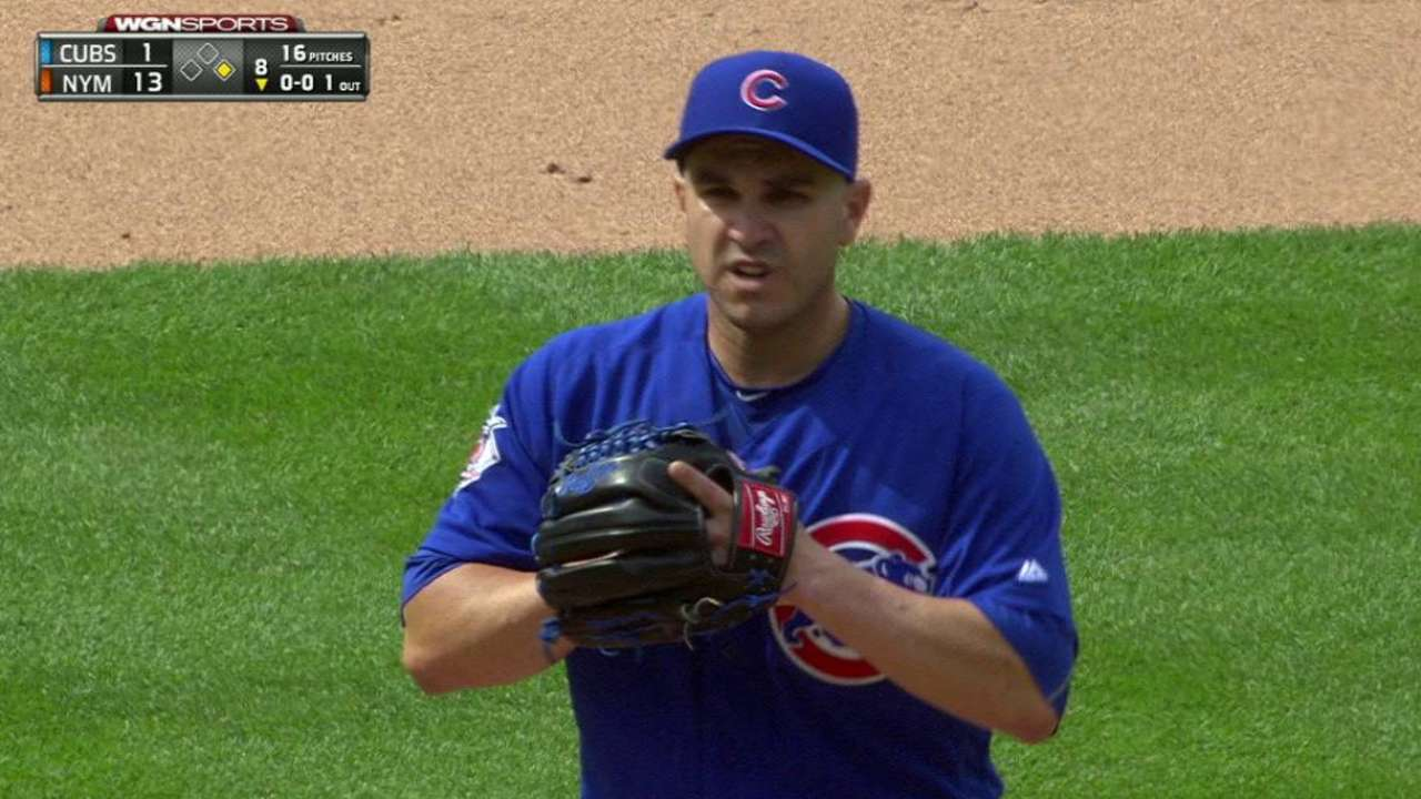 Cubs call on Montero to save bullpen