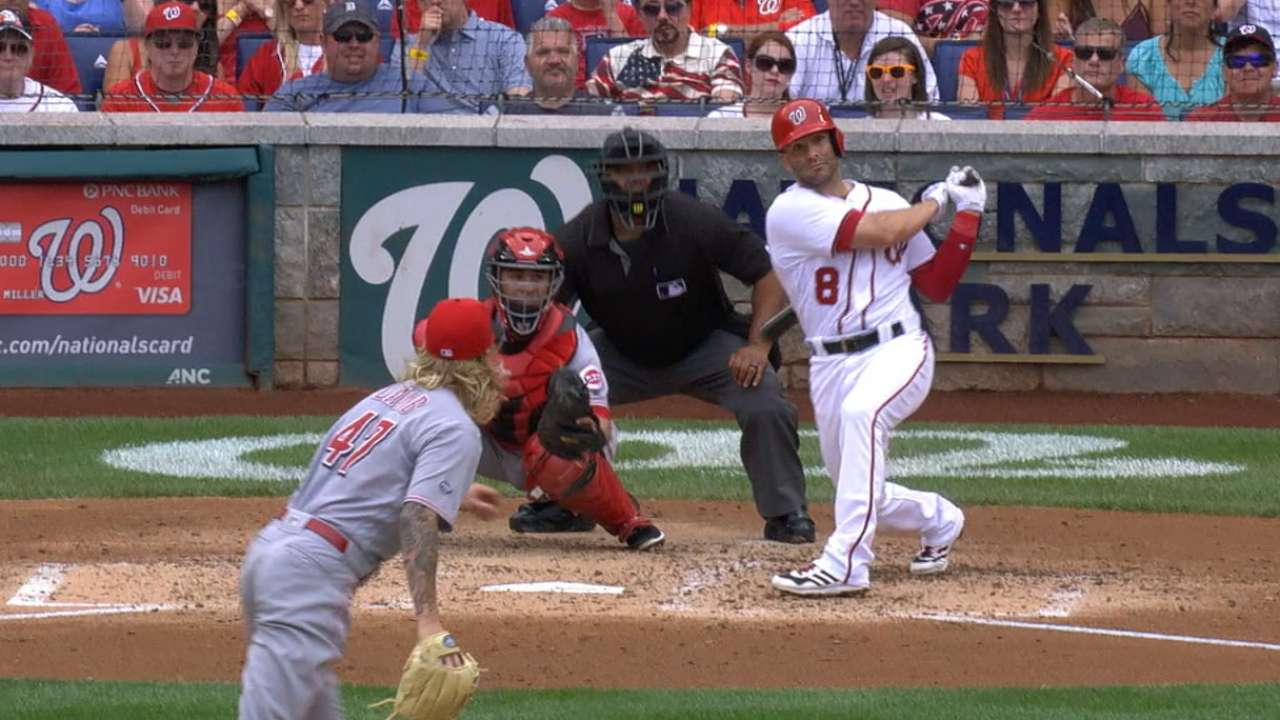 Espinosa nets NL honors with 17-RBI week