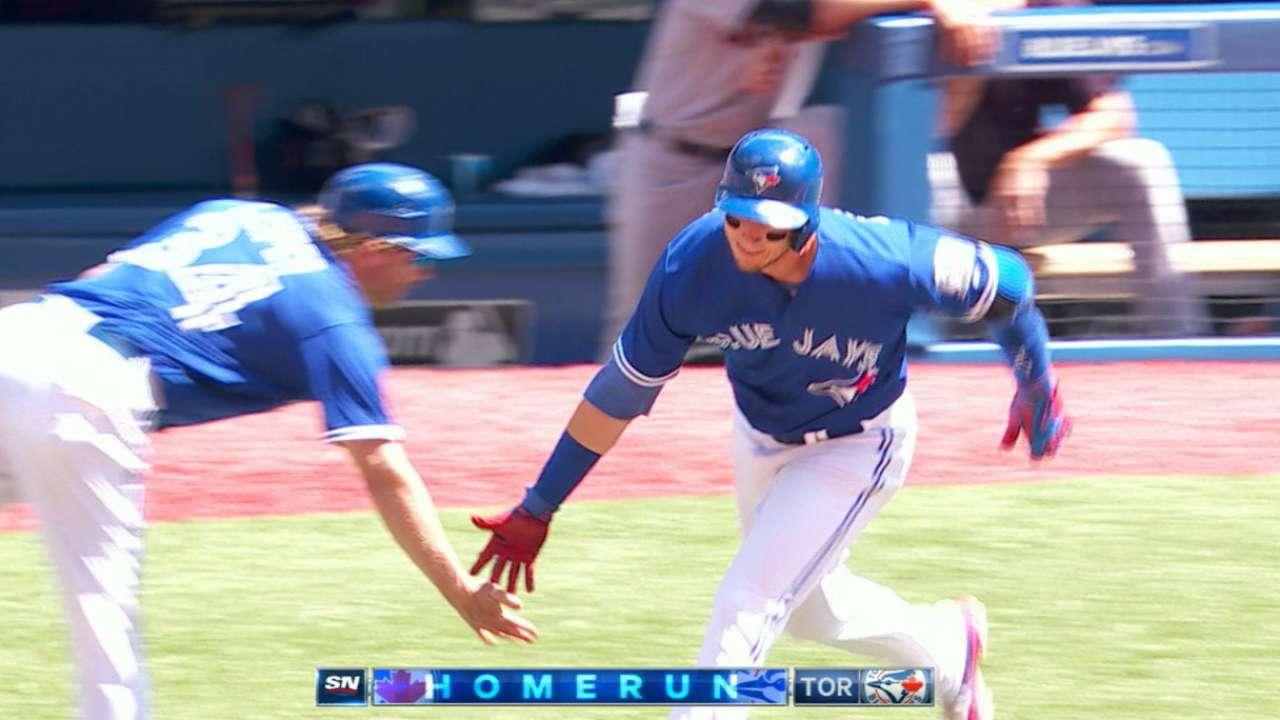 Blue Jays' eight-run 6th inning