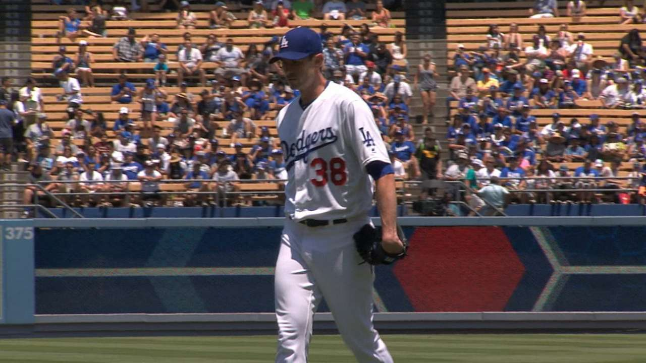 Dodgers' worst might be behind them