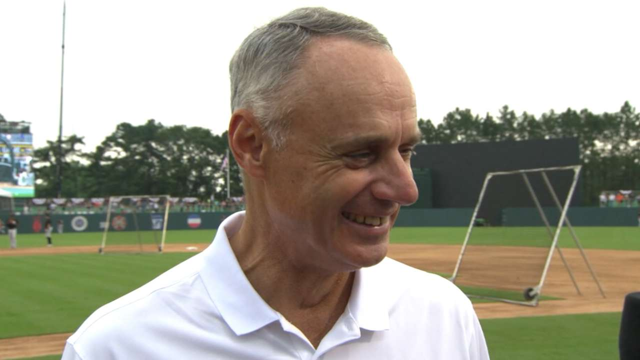 Manfred on Fort Bragg game