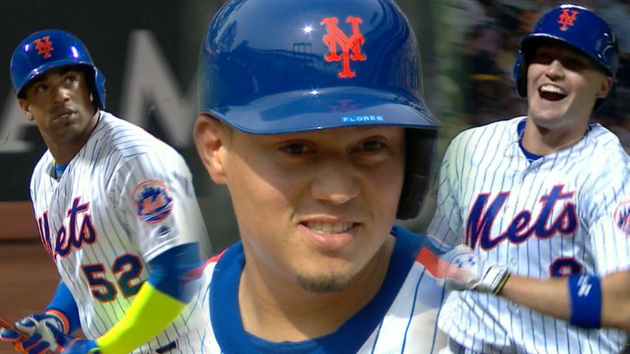 Mets sizzle as they sweep Cubs