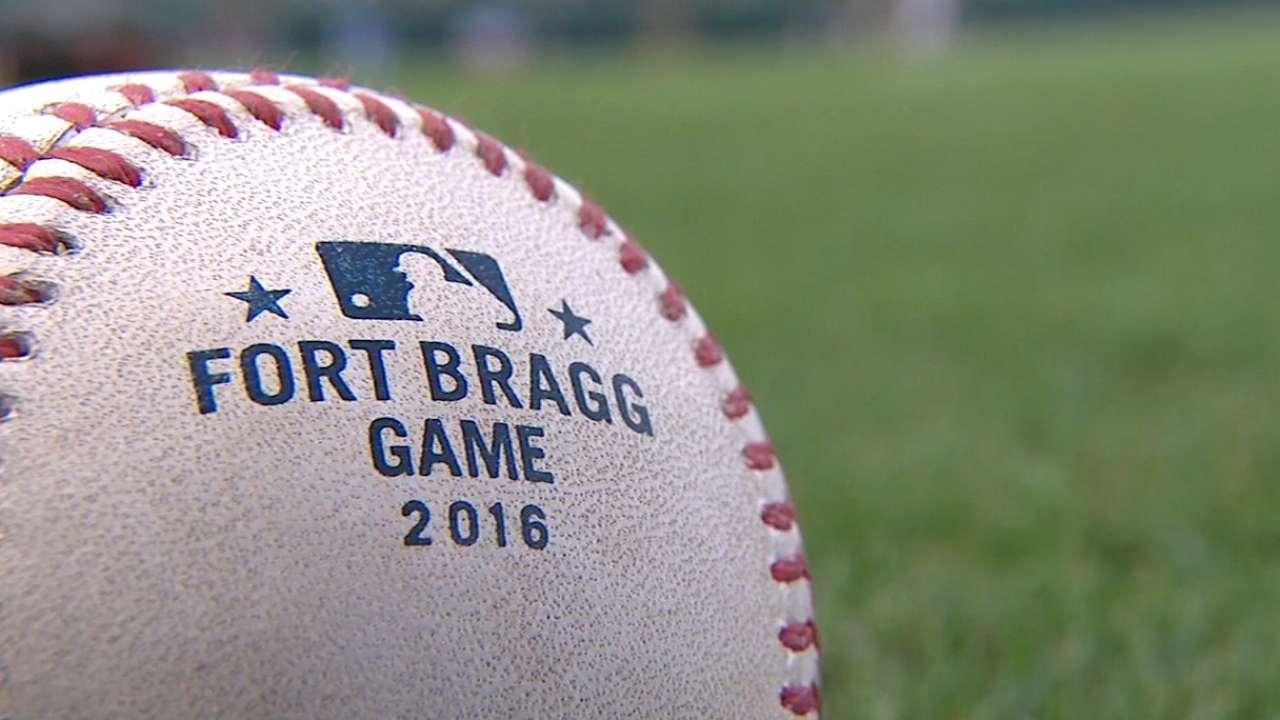 Fort Bragg hosts historic game