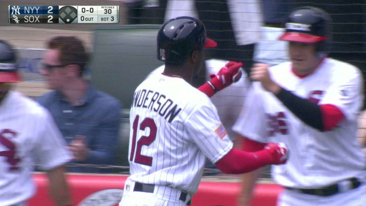 Anderson's two-run homer