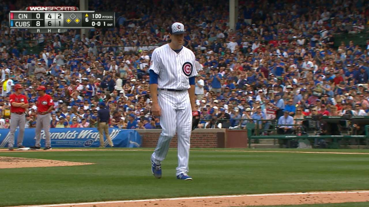 Hendricks' solid outing