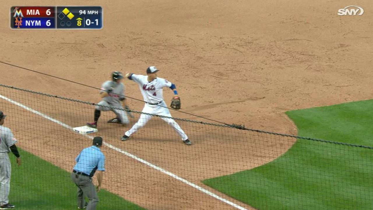 Loney starts big double play