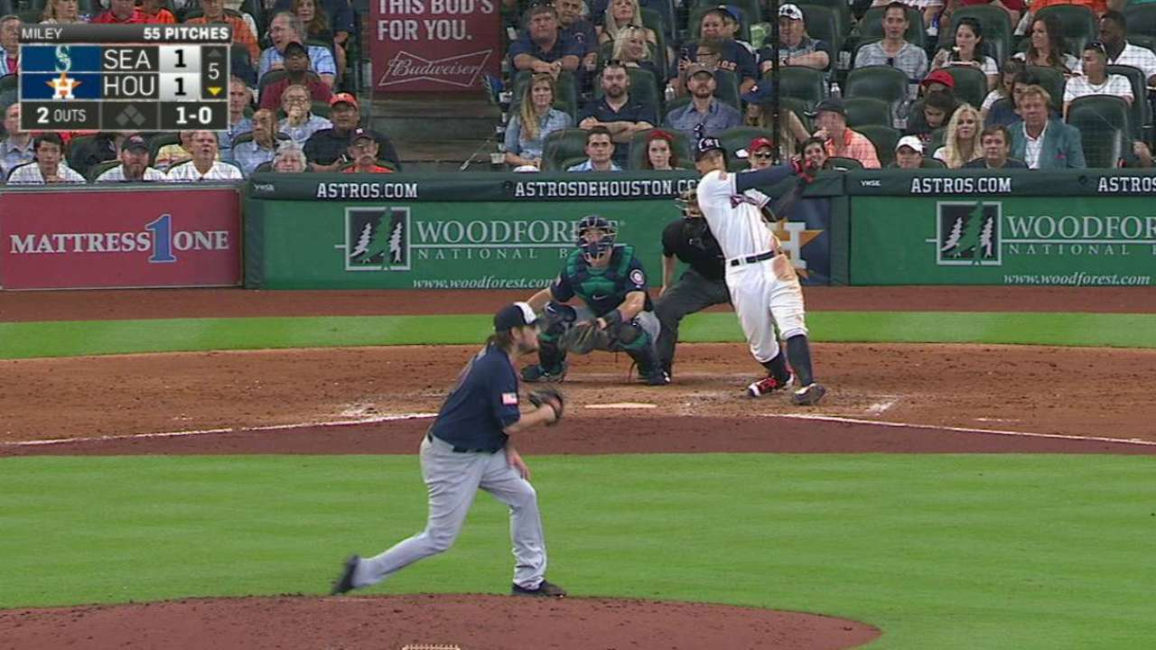 Summer of George: Springer paces Astros' win