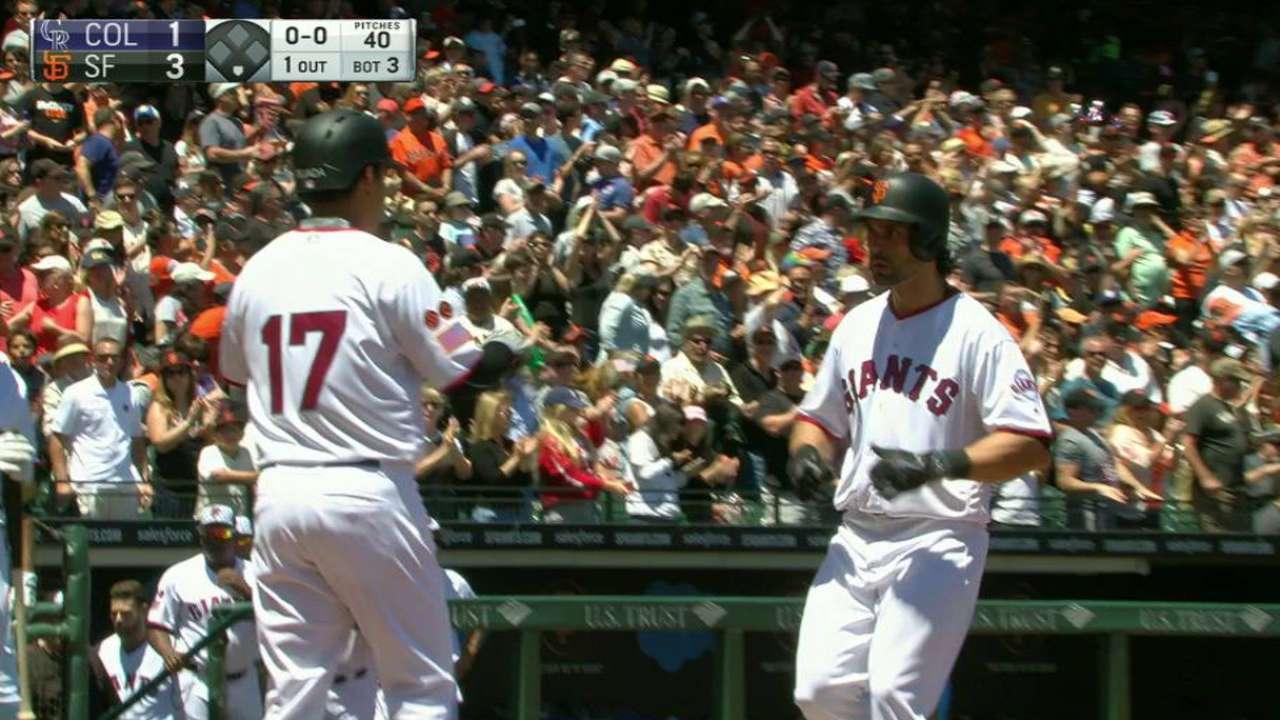 Pagan's two-run homer