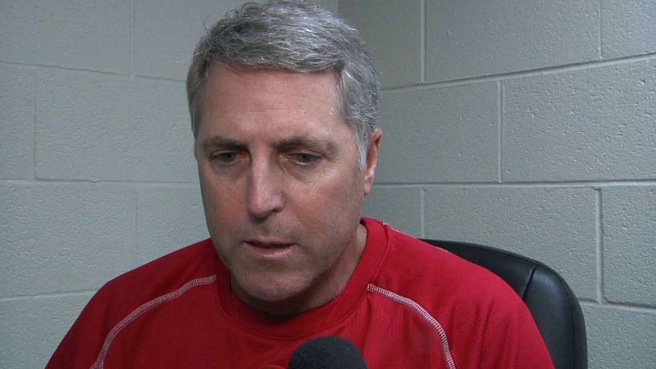 Reds' arms take responsibility after dismissal