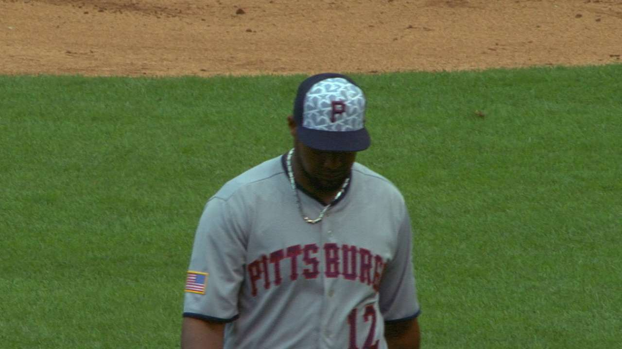 Nicasio 3rd Pirate to toss immaculate frame