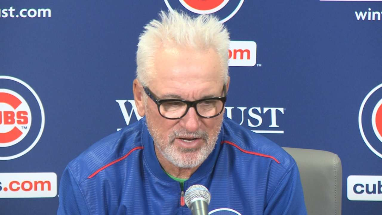Maddon on ejection, loss to Reds