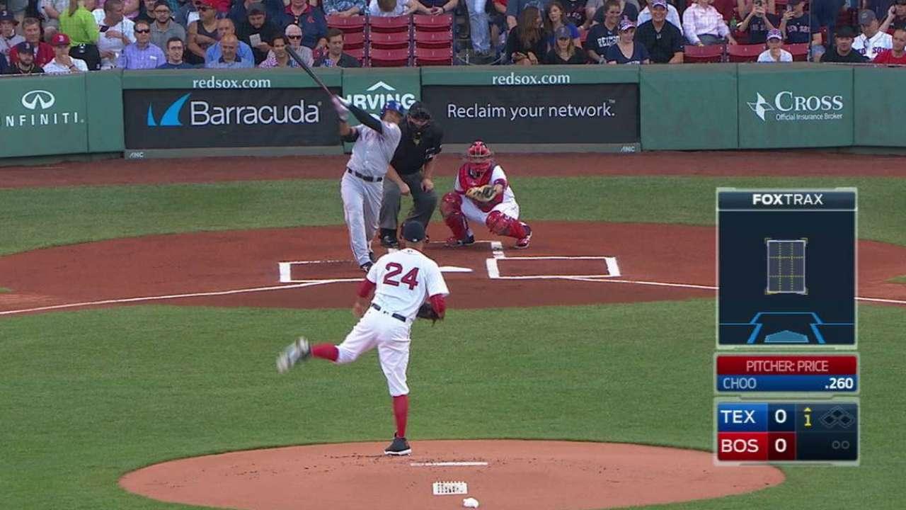 Choo's solo home run