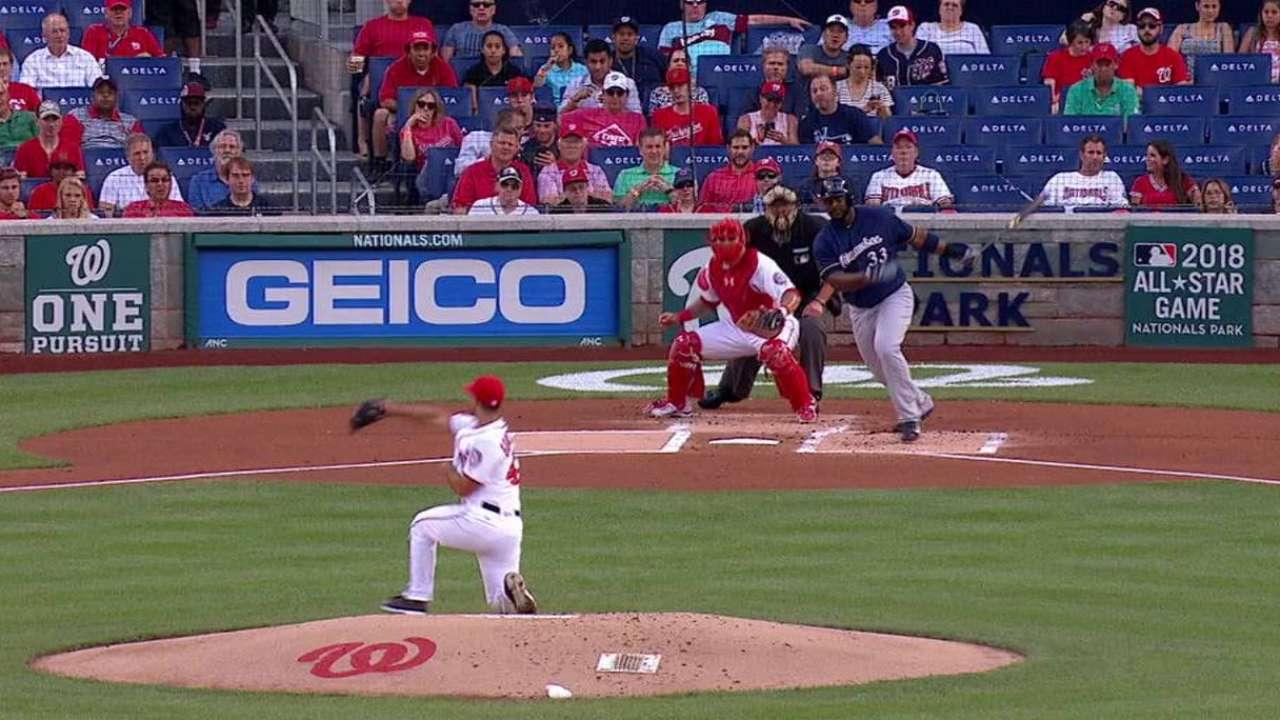 Gonzalez's quick glove