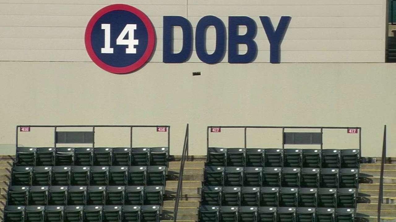 Davis on Doby