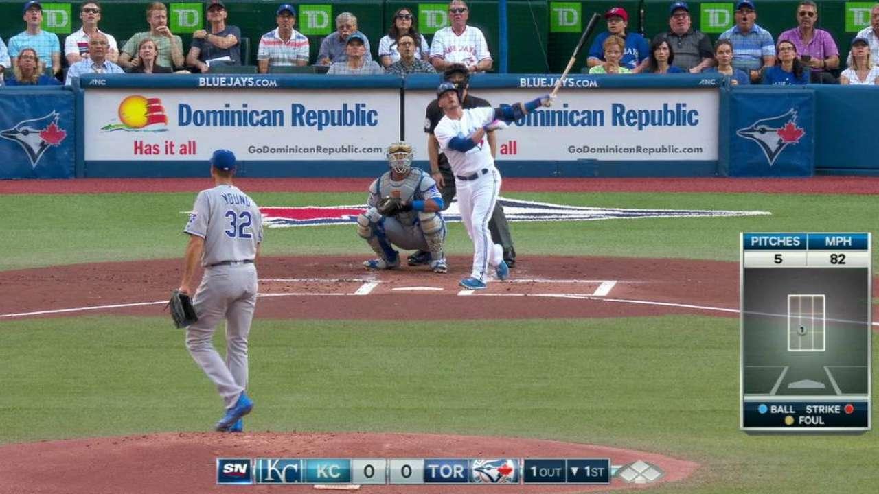Donaldson's solo home run