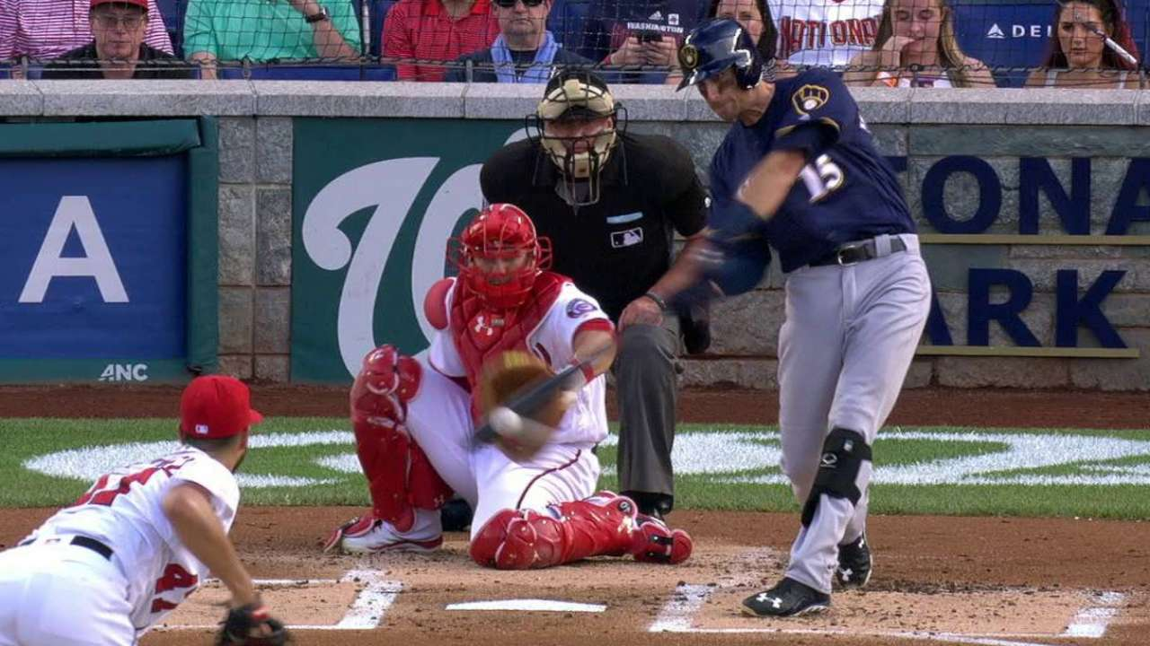 Middlebrooks' first hit