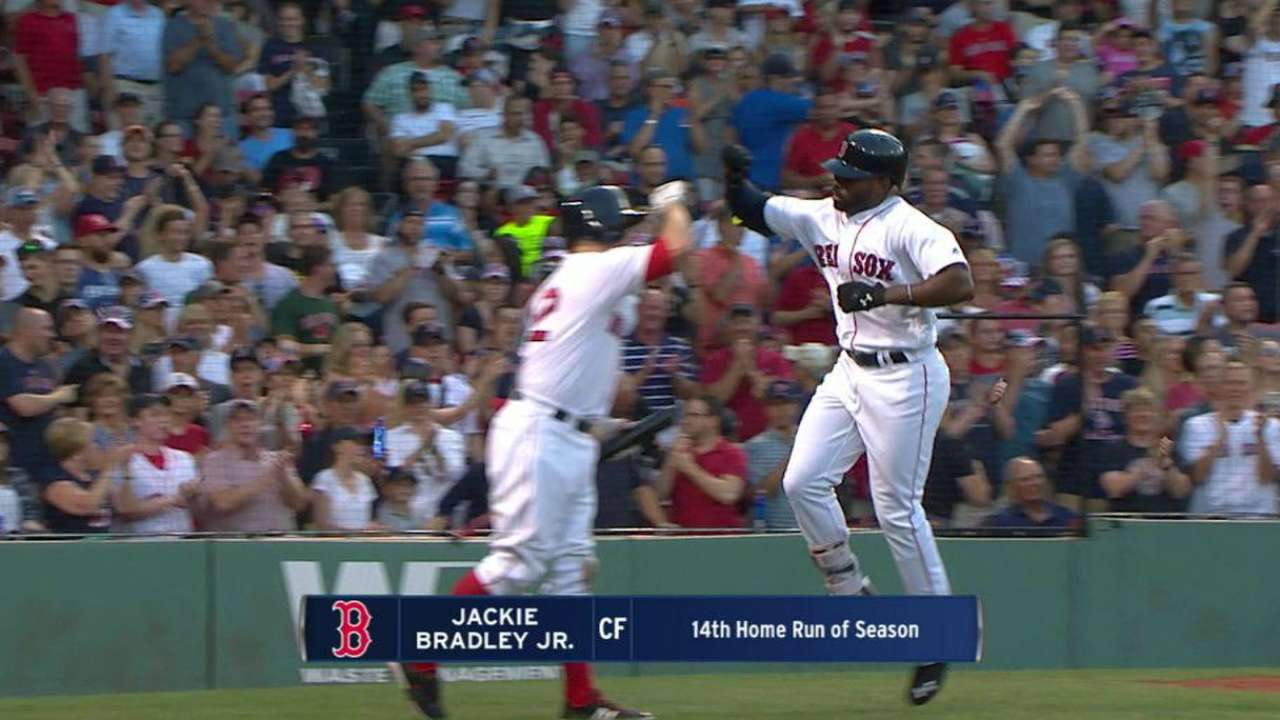 Bradley Jr.'s solo home run