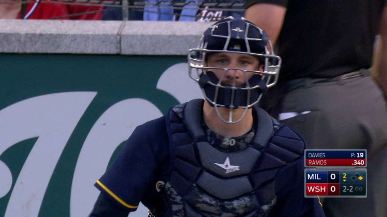 Lucroy named NL All-Star for second time