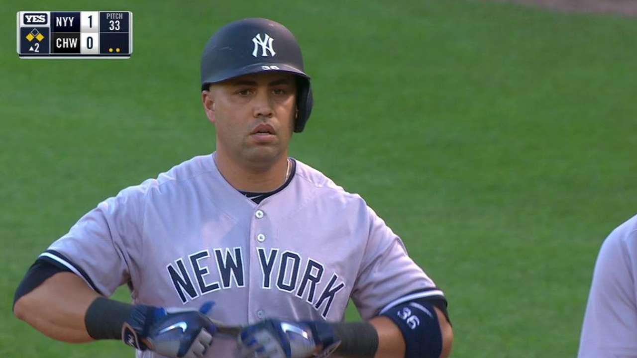 Yankees apoyan a Masahiro Tanaka con 20 hits vs. White Sox