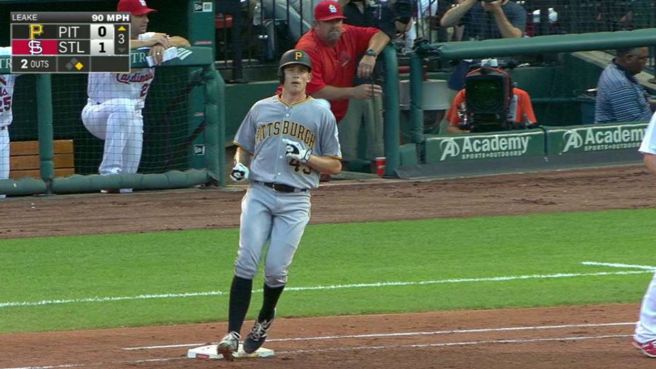 Brault's first career hit