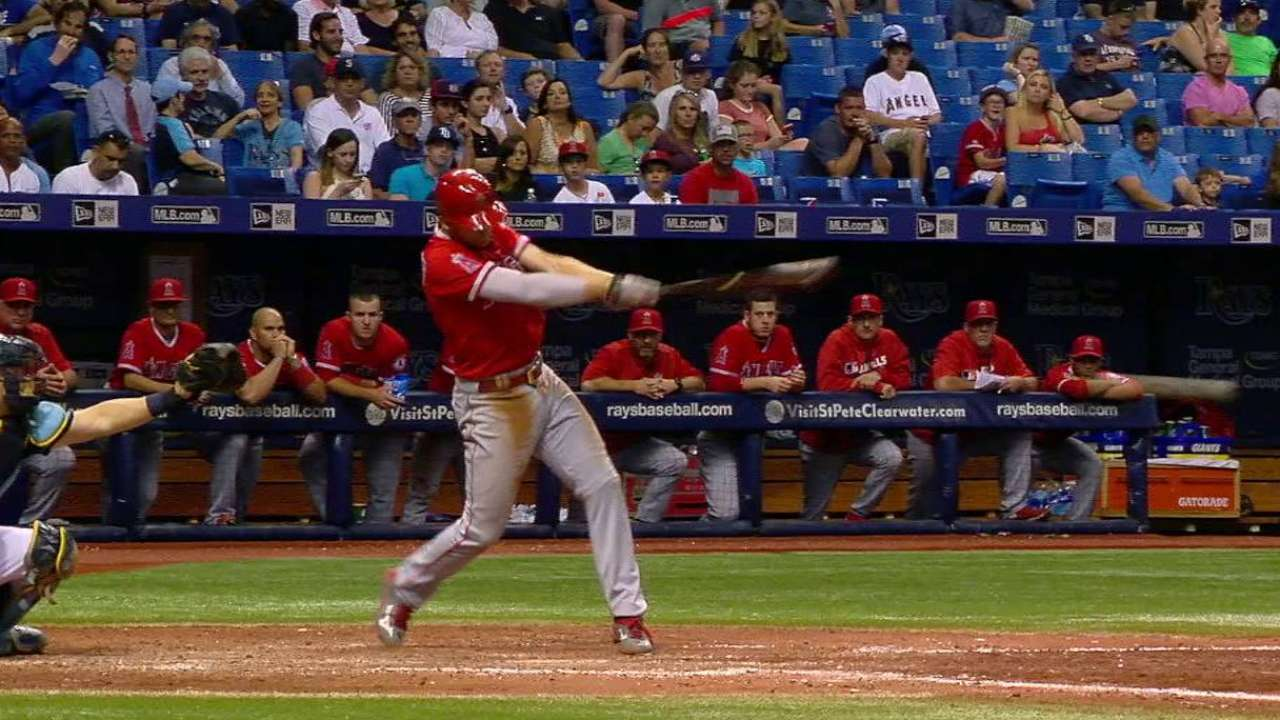 Simmons, Cron lead Angels past Rays