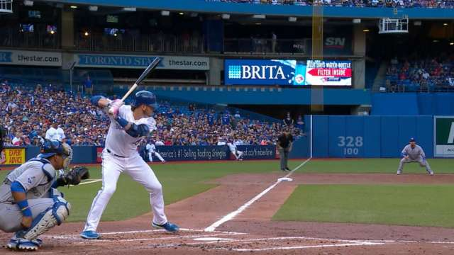 Donaldson's two-homer game