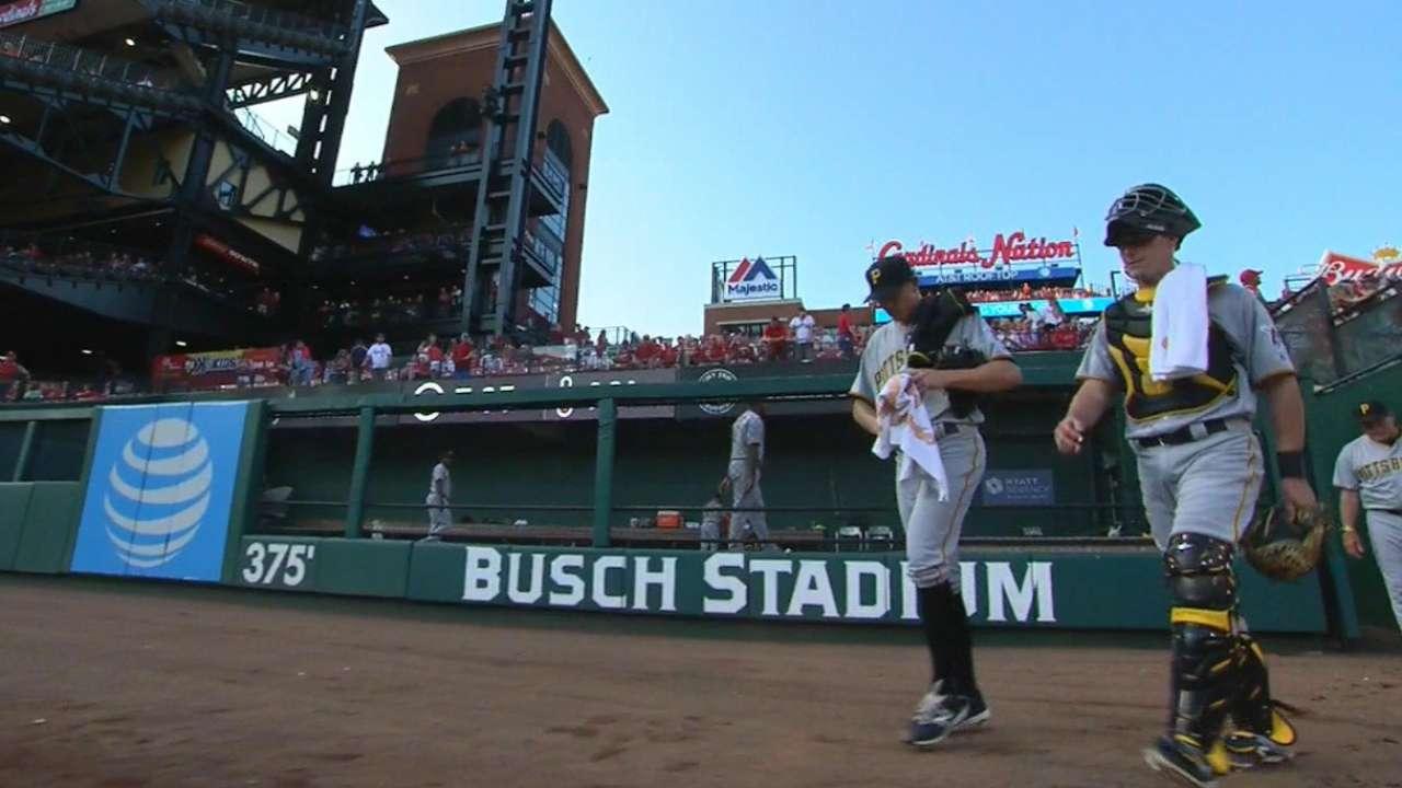 Brault's MLB debut