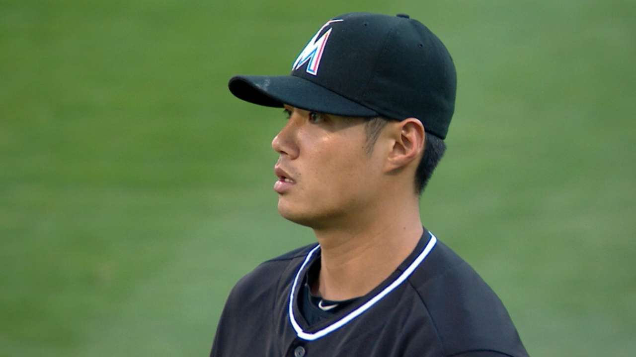 Marlins not counting on Chen for stretch run
