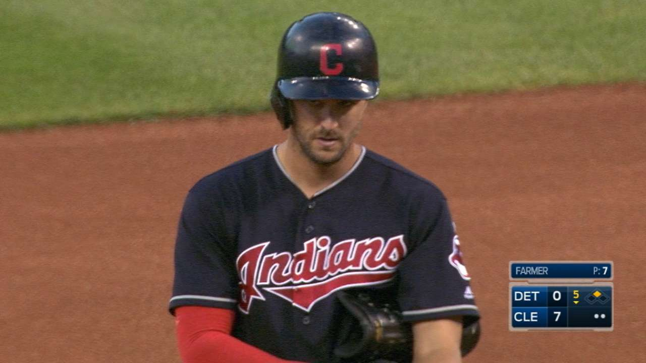 Chisenhall's four-hit game
