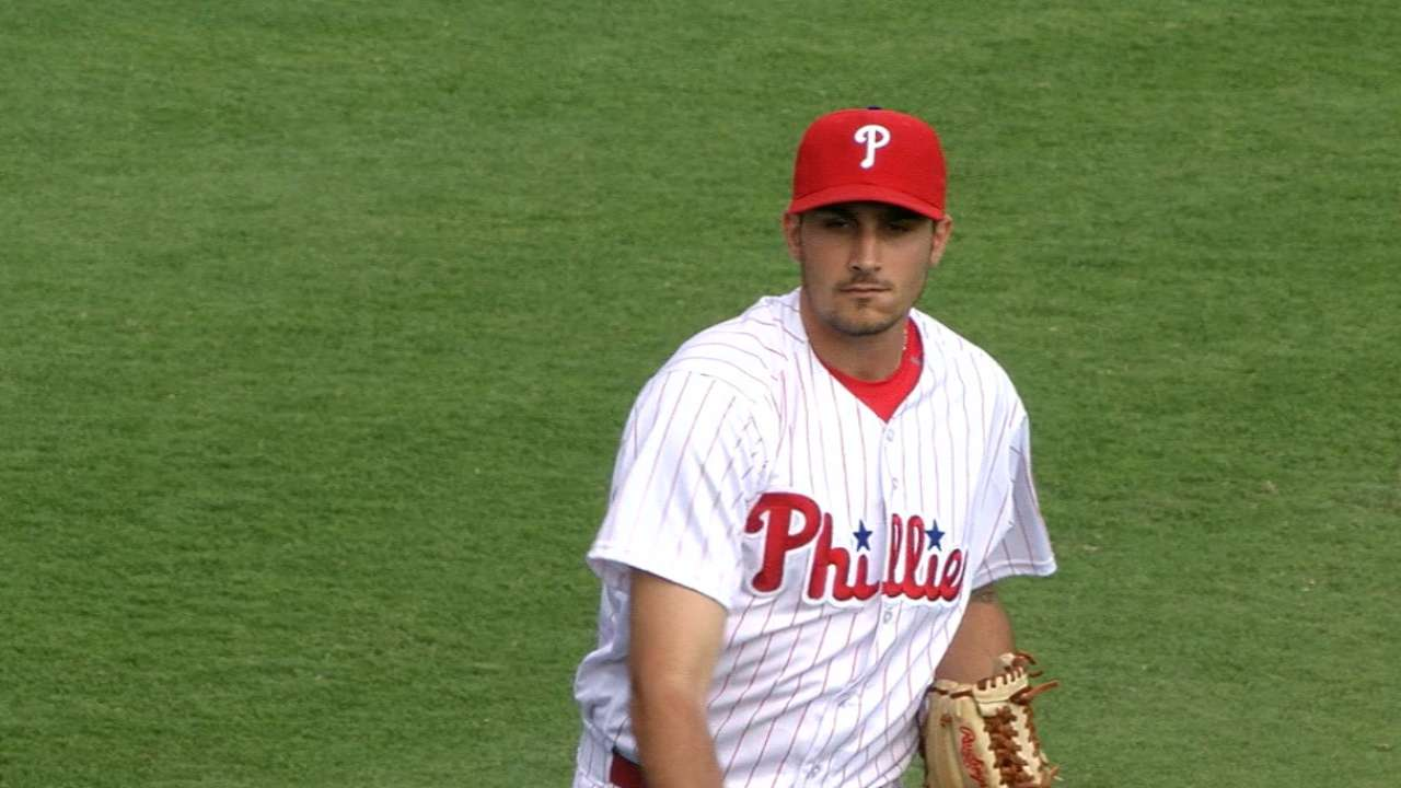 Eflin, Chatwood square off in first-half finale