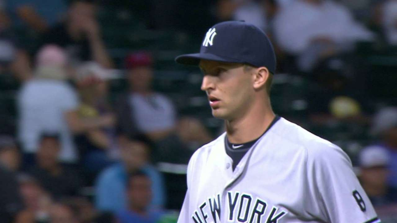 Chasen Shreve the unlikely closer in Yankees 5-4 win