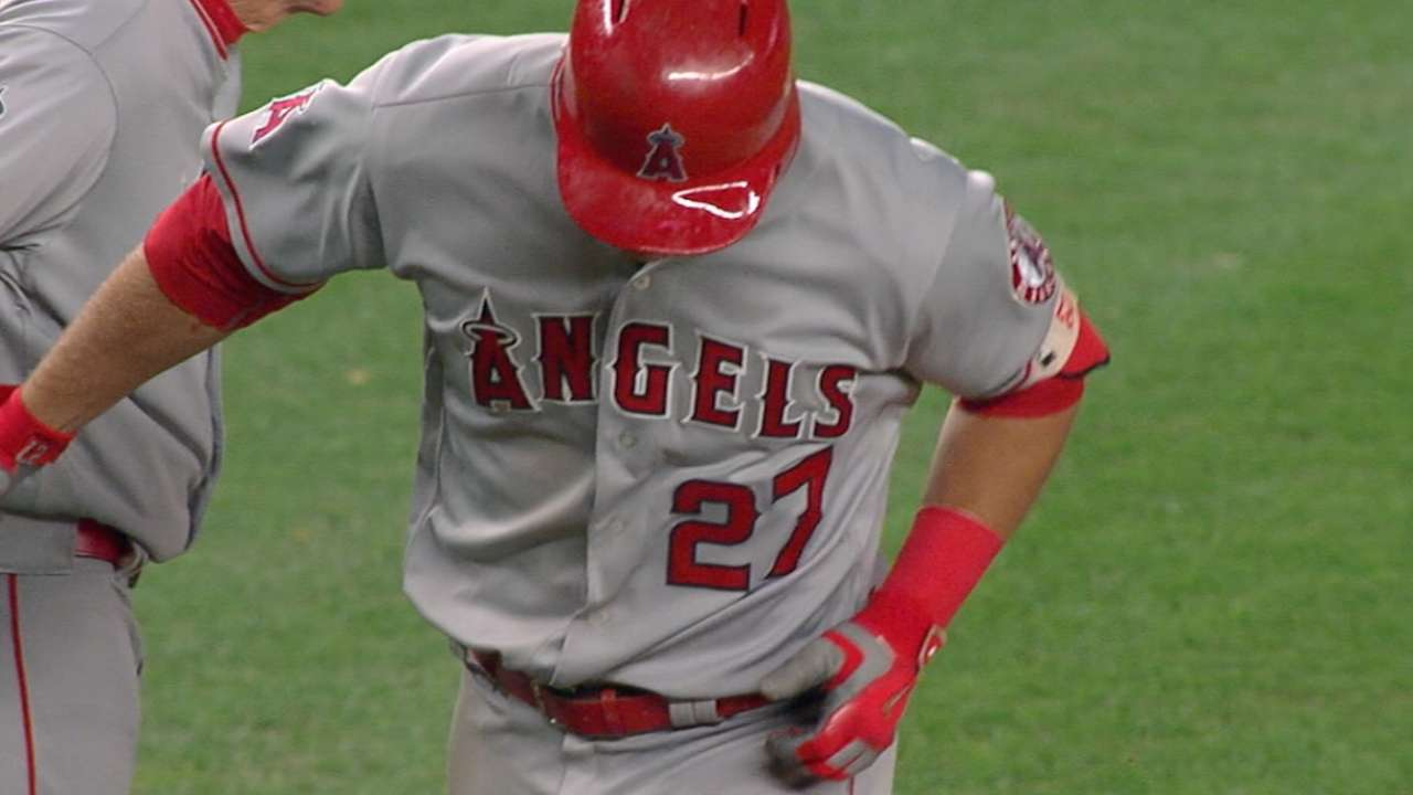 Trout named to his fifth ASG