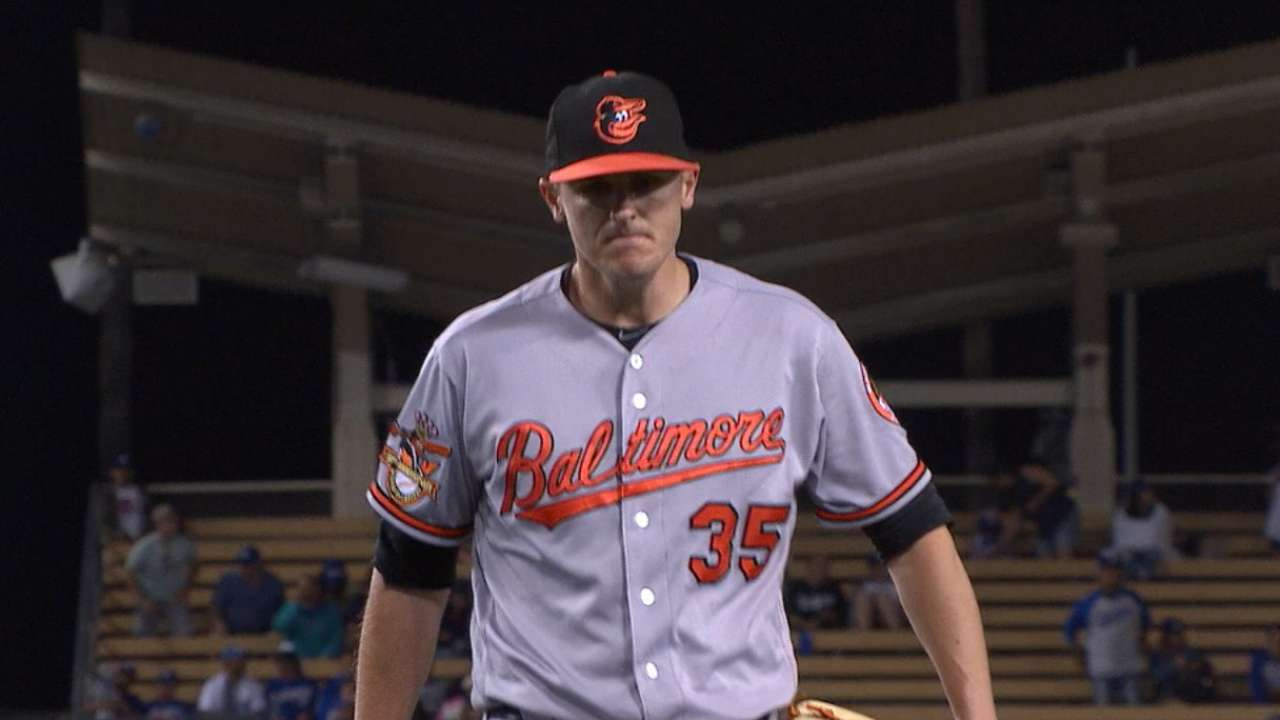 Brach strikes out the side