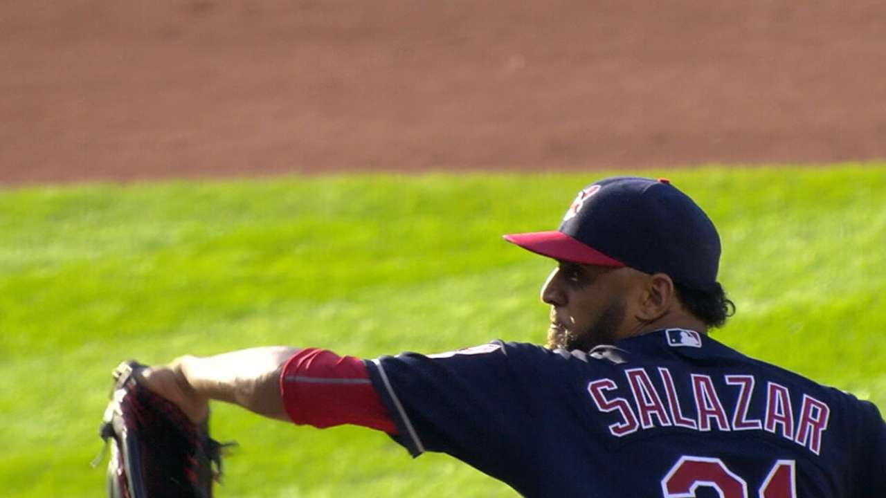 Callaway prepping for Salazar pitching in ASG