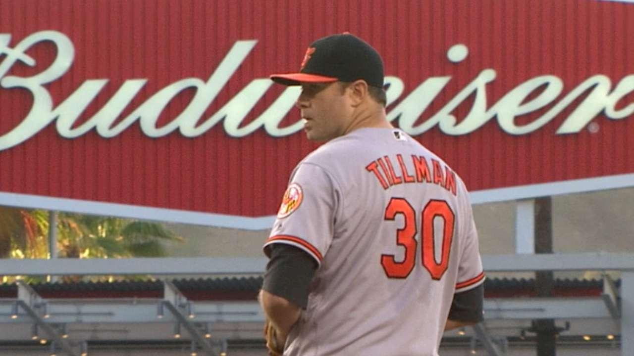 Tillman's winning outing