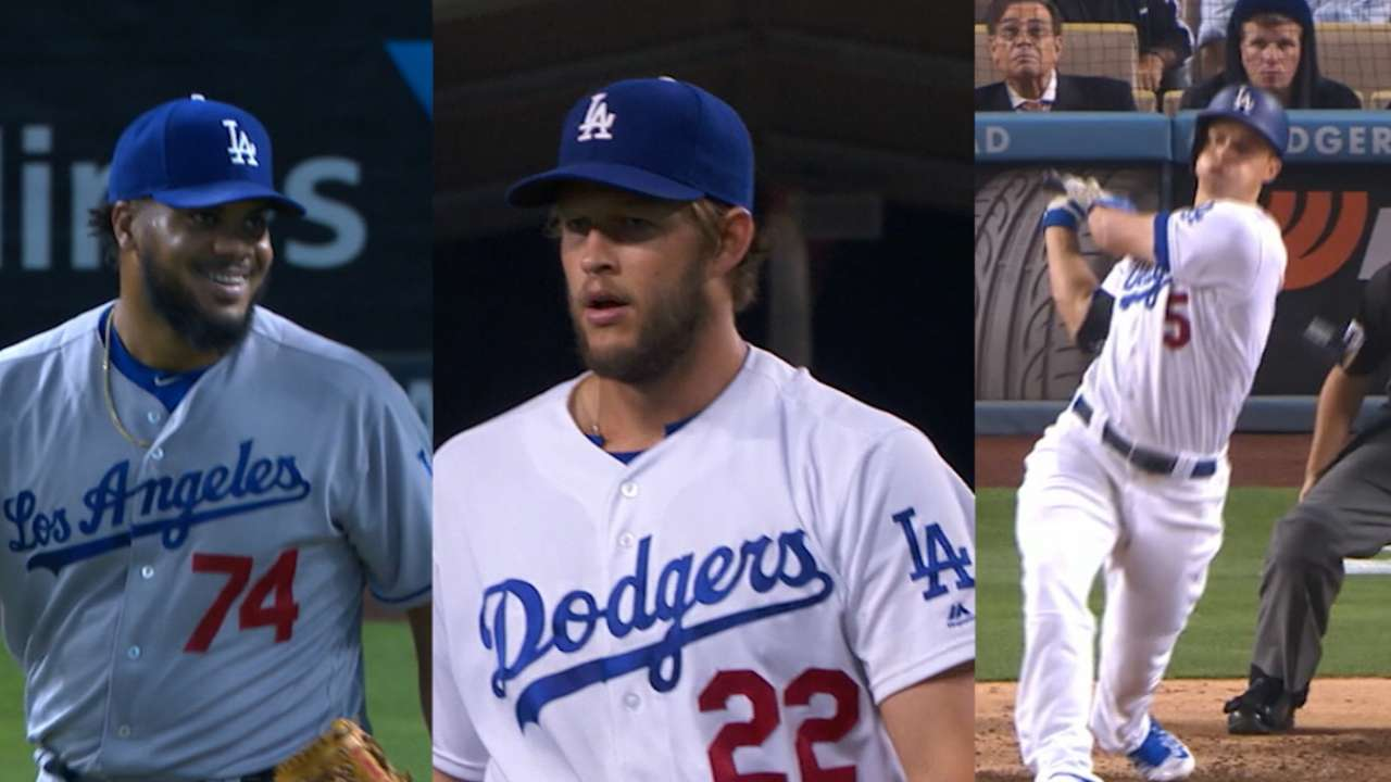 Kershaw, Jansen and Seager named All-Stars