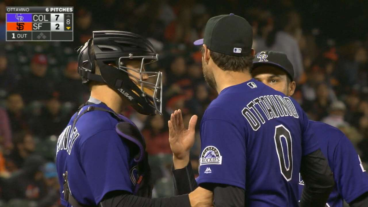 Ottavino set to pitch late in games